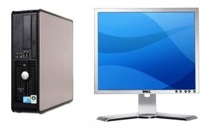 Dell Optiplex 755 SFF C2D 2,33 GHz/ 2GB/ 80 GB/ DVD/ WIN VB/ XPP  + MONITOR DELL 19'