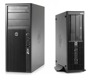 HP Z210 Workstation  Quad / 8GB / 500GB / DVDRW/ Quadro / 7 PRO