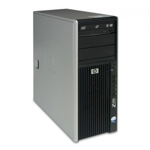 Hewlett-Packard HP Z400 Workstation / Intel Xeon Quad / 8GB
