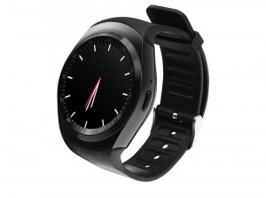 MEDIA-TECH Zegarek typu smartwatch Media-Tech ROUND WATCH GSM MT855 slot microSIM