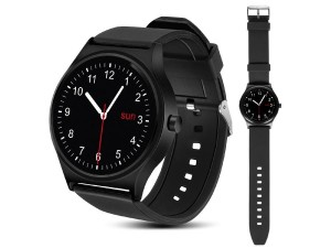 Smartwatch NanoRS RS100 z bluetooth i pulsometrem, czarny