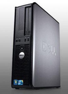 DELL Optiplex 755 DESKTOP core2Duo 3,0 / 2GB / 80GB / DVD /VB/XP