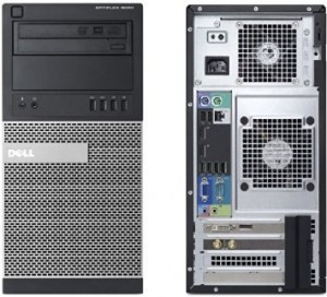 DELL 9020 Tower/ i7-4770 K/ 8GB / 256GB / DVD / WIN 10 Pro