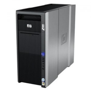 HP Z800 Workstation / 2x HEXA CORE/24GB RAM DDR3 ECC/500 GB /DVD-RW/ Geforce GTX 1050 2GB / Win 7 PRO