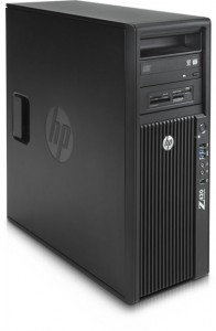 HP Z420 Workstation / E5-1620 v2 / 16GB / 240GB SSD + 500GB/ K4000 / W 10 PRO