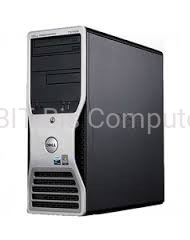 Dell PRECISION 390 TOWER C2QUAD Q6600 4x  2,4GHz / 4GB RAM / 250GB HDD / DVD-RW NARYWARKA/ VISTA ULTIMATE/XPP  + DMS-59